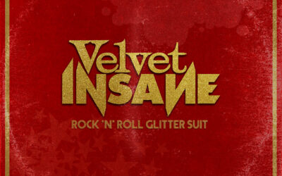 Velvet Insane – Rock 'n' Roll Glitter Suit – Out Now!